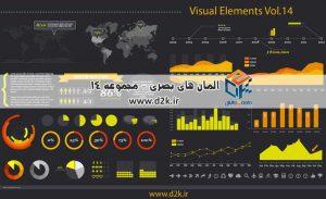 مجموعهی المانها و ابزار های گرافیکی