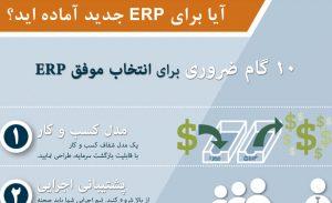 دانلود اینفوگرافیک آیا برای ERP جدید آماده اید؟