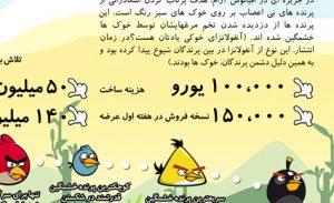 اینفوگرافیک پرندگان خشمگین